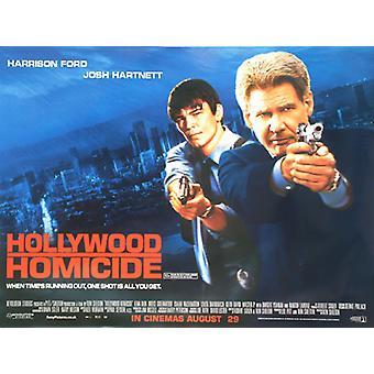 Hollywood-Homicide (kaksipuolinen) alkuperäinen elokuva juliste