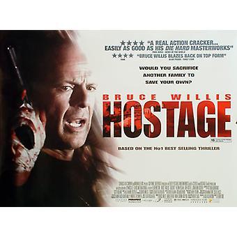 Hostage alkuperäinen elokuva teatteri juliste