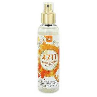 4711 Remix door 4711 body spray (unisex 2018) 5,1 oz (mannen) V728-547019