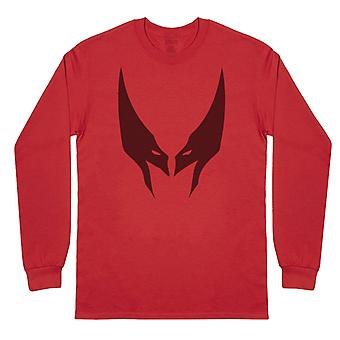 Wolverine Mask - Mens Long Sleeve T-Shirt