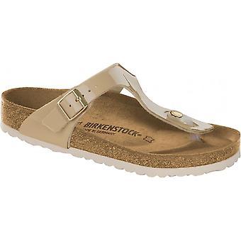 Birkenstock Gizeh BF Sandale Patent 1013076 Sand NARROW