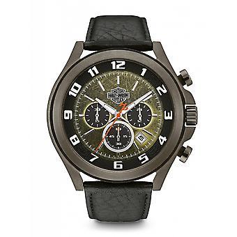 Harley Davidson 78B149 Men's Chronograph Wristwatch