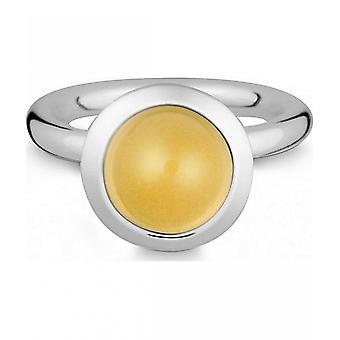 Quinn-zilveren ring met Citrien-021839611