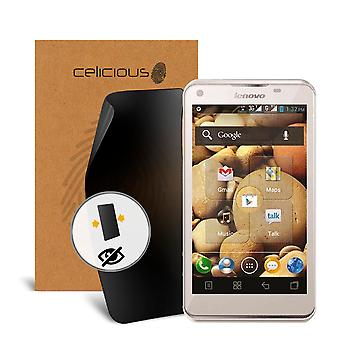 Celicious Privacy 2-Way Anti-Spy Filter Screen Protector Film Compatible with Lenovo S880