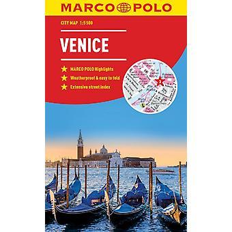 Venice Marco Polo City Map  pocket size easy fold Venice
