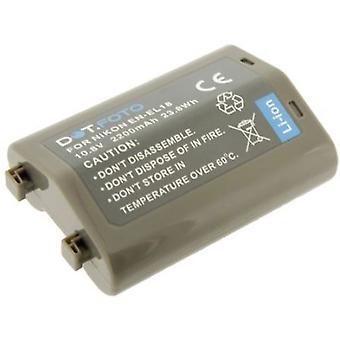 Bateria de substituição Nikon EN-EL18 Dot.Foto - 10.8 v / 2200mAh