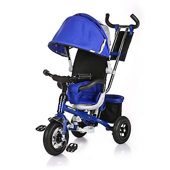 Chipolino tricycle Hunter tricycle 3 i 1 med pneumatiske dekk, skyve stang, soltak