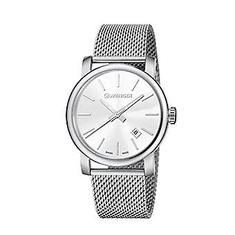 Wenger Mens Quartz analog watch with stainless steel band 01.1041.121
