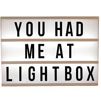 Cinematic LightBox A4 Größe