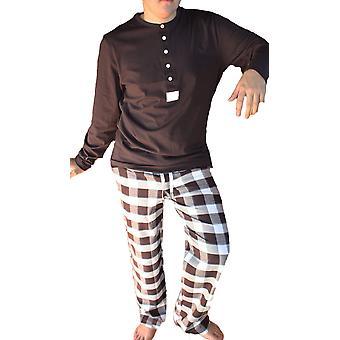 Nieuwe mens JOCKEY 100% katoen Lange pyjama 52213