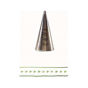 PME Small Leaf Tube Supatube Piping Nozzle No 50