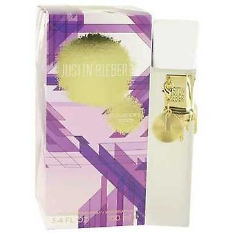 Justin Bieber Collector's Edition Justin Bieber Eau De Parfüm Sprey 3.4 Oz (kadın) V728-529581