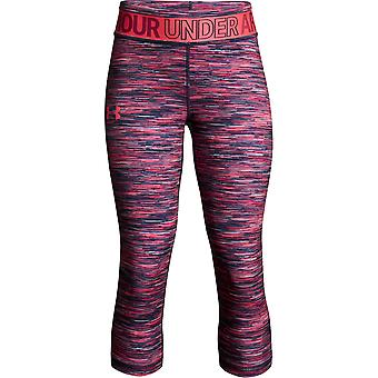 Under Armour Filles Heatgear Armour Imprimé Capri