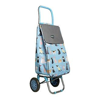 Sabichi Crazy Cats Shopping Trolley