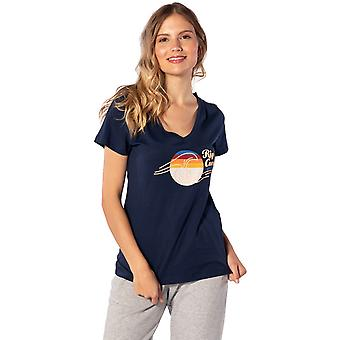 Rip Curl The Wave Korte Mouw T-shirt in Navy