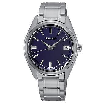 Seiko Uhren Sur317p1 Blau & Silber Edelstahl Herren's Uhr