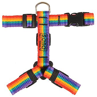 Bub's Arnes Not Pull Pequeño Rainbow (Dogs , Collars, Leads and Harnesses , Harnesses)