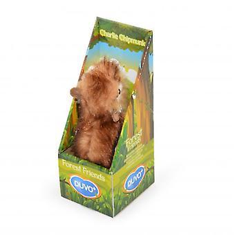 Duvo+ Toy Dog Forest Friends Charlie Chipmunk Medium 29 X 9 Cm