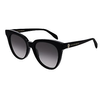 Alexander Mcqueen AM0159S 001 Black/Grey Gradient Sunglasses