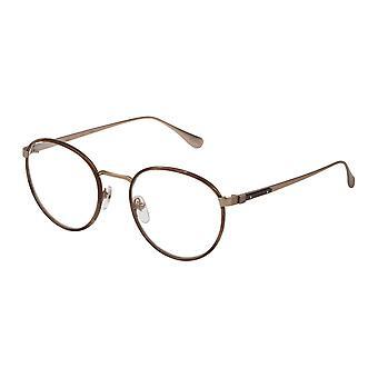 Dunhill VDH152M 08FT Matte Grey-Gold-Light Havana Glasses