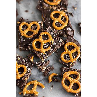 Choklad Smak Låg natrium pretzel-( 14.96lb )