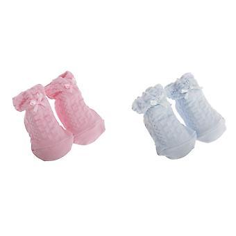 Barnehage tid Baby gutter/jenter bøye Design sokker