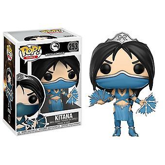 Funko Pop! Jeux vinyle Mortal Kombat Kitana Figure Modèle Collectable #253