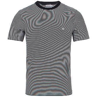 Calvin Klein Small Stripe Logo T-Shirt