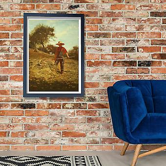 Winslow Homer - Haymaking (1864) Poster Print Giclee