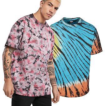 Urban Classics - Tie Dye surdimensionné T-Shirt Multicolored