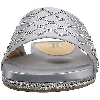 BADGLEY MISCHKA femei Shayna Fabric Open Toe casual slide sandale