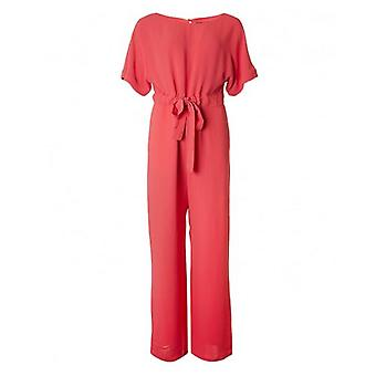 French Connection Crepe Long Jumpsuit
