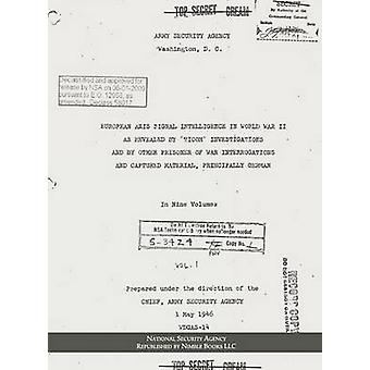 European Axis Signal Intelligence in World War II by National Security Agency