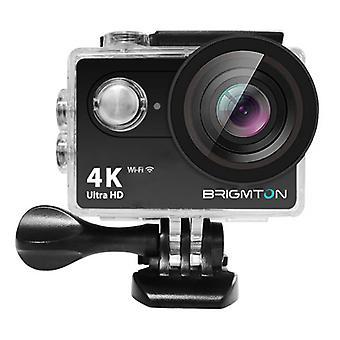 Câmera esportiva BRIGMTON BSC-10-HD4K Wifi Preto