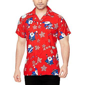 Club cubana men's regular fit classic short sleeve casual shirt ccx31