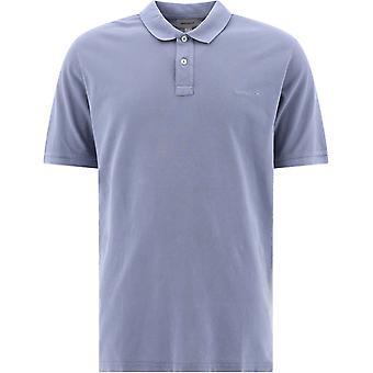 Woolrich Wopo0012mrut14833008 Men's Light Blue Cotton Polo Shirt