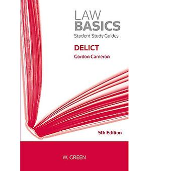 Delict by Gordon Cameron - 9780414064720 Book