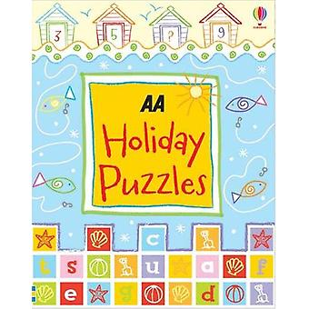Holiday Puzzles - 9780749581589 Book