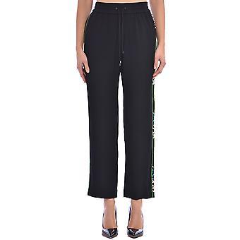 Kenzo Fa52pa1315ac59 Women's Black Polyester Pants