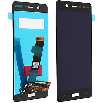 LCD replacement part with touchscreen for Nokia 5 – Black