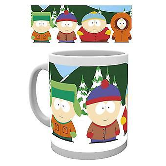 Caneca dos Meninos de South Park