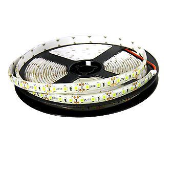 Jandei LED Strip 12V Koud Wit 6000K 600LED Coil 5 Meter IP65 Exterieur SMD2835 Hoogwaardige Lijmbasis 3M. Snijden elke 25 millimeter.