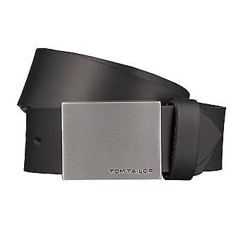 TOM TAILOR cinto couro cintos MASC cintos cintos de couro masculino pretos 1232