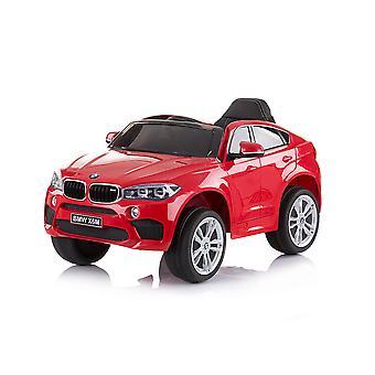 Chipolino Kids Carro Elétrico BMW X6 Controle Remoto Função MP3, LUZ DE PNEU EVA