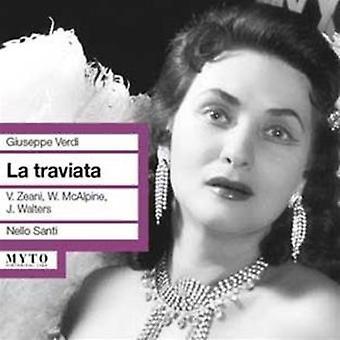 Verdi / Zeani / Walters / Covent Garden / Santi - La Traviata [CD] USA import