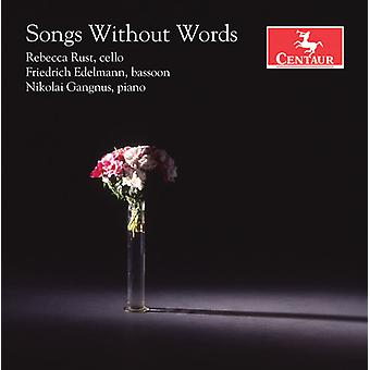 Songs Without Words [CD] USA import