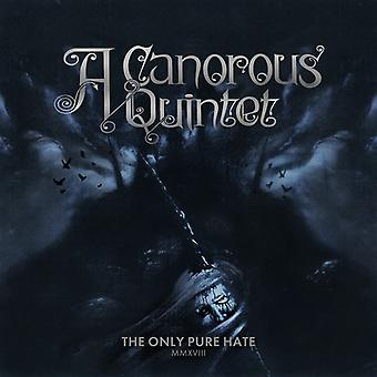 Canorous Quintet - Only Pure Hate -Mmxviii- [CD] USA import