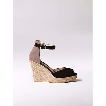 Toni Pons premiun high wedge suede espadrille - SHARON-A