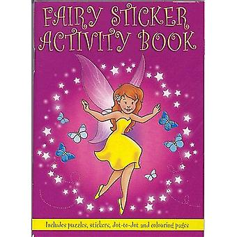 Fairy Mini Sticker Activity Book for Party Bags | Kids Fairy Craft Supplies