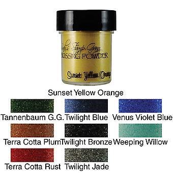 Lindy's Stamp Gang Sunset Yellow Orange Embossing Powder